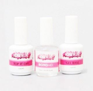 Kit Primer Gel Base + Ph Bond Aid + Top Coat