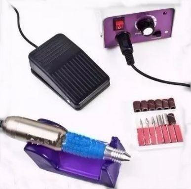 Lixa Elétrica De Unha Profissional 25.000 Rpm Bivolt LINA