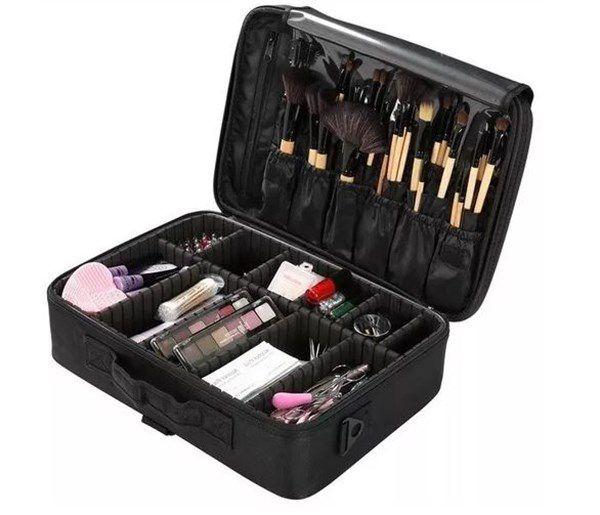 Maleta Bolsa Porta Maquiagem Esmalte Pincel Manicure