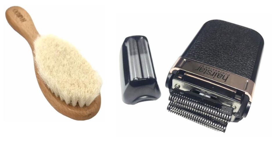 Máquina Barbeador Elétrico Shaver Sem Fio Hairstar Km 106 Escovinha De Disfarce
