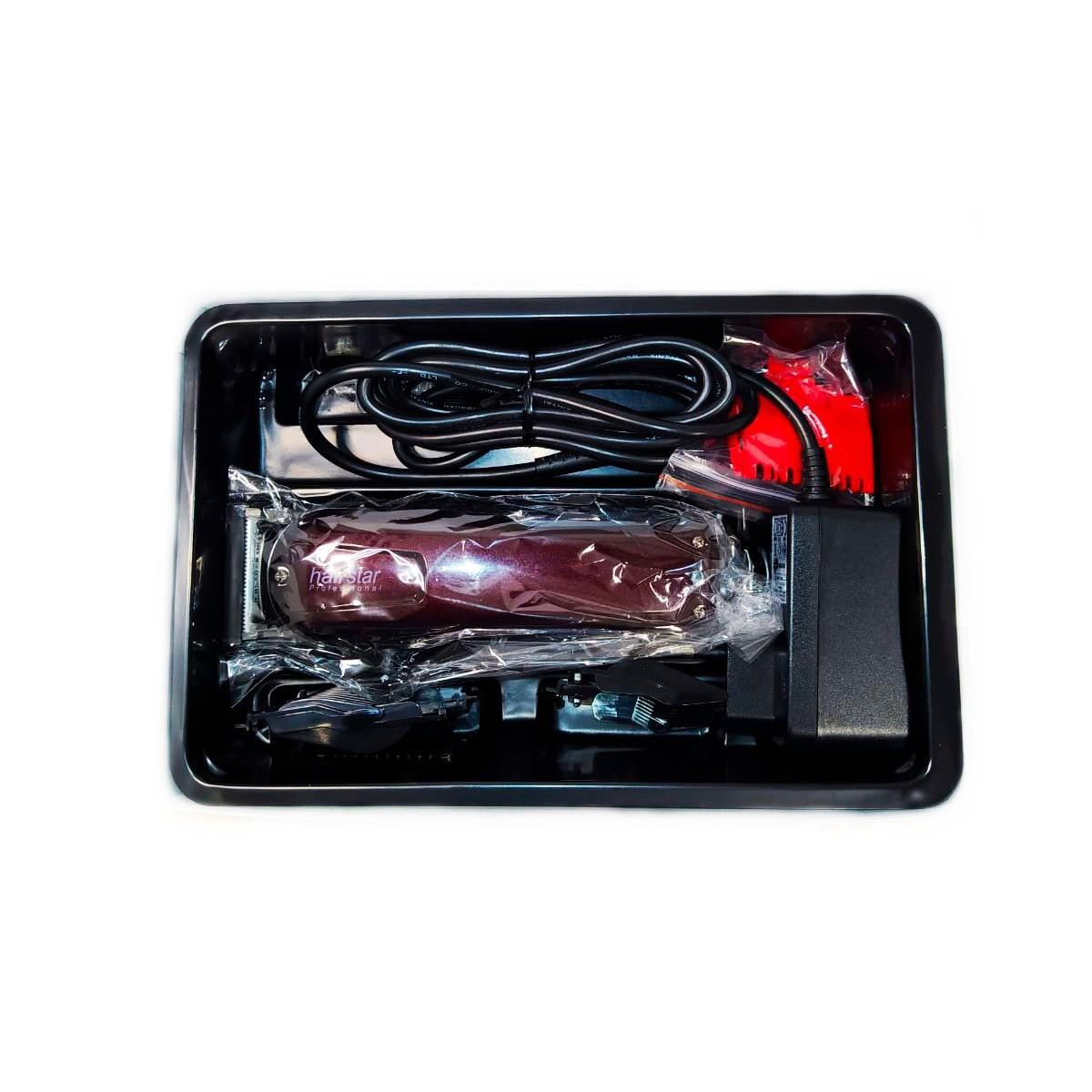 Maquina De Cortar Cabelo Barba Eletronica Km 206