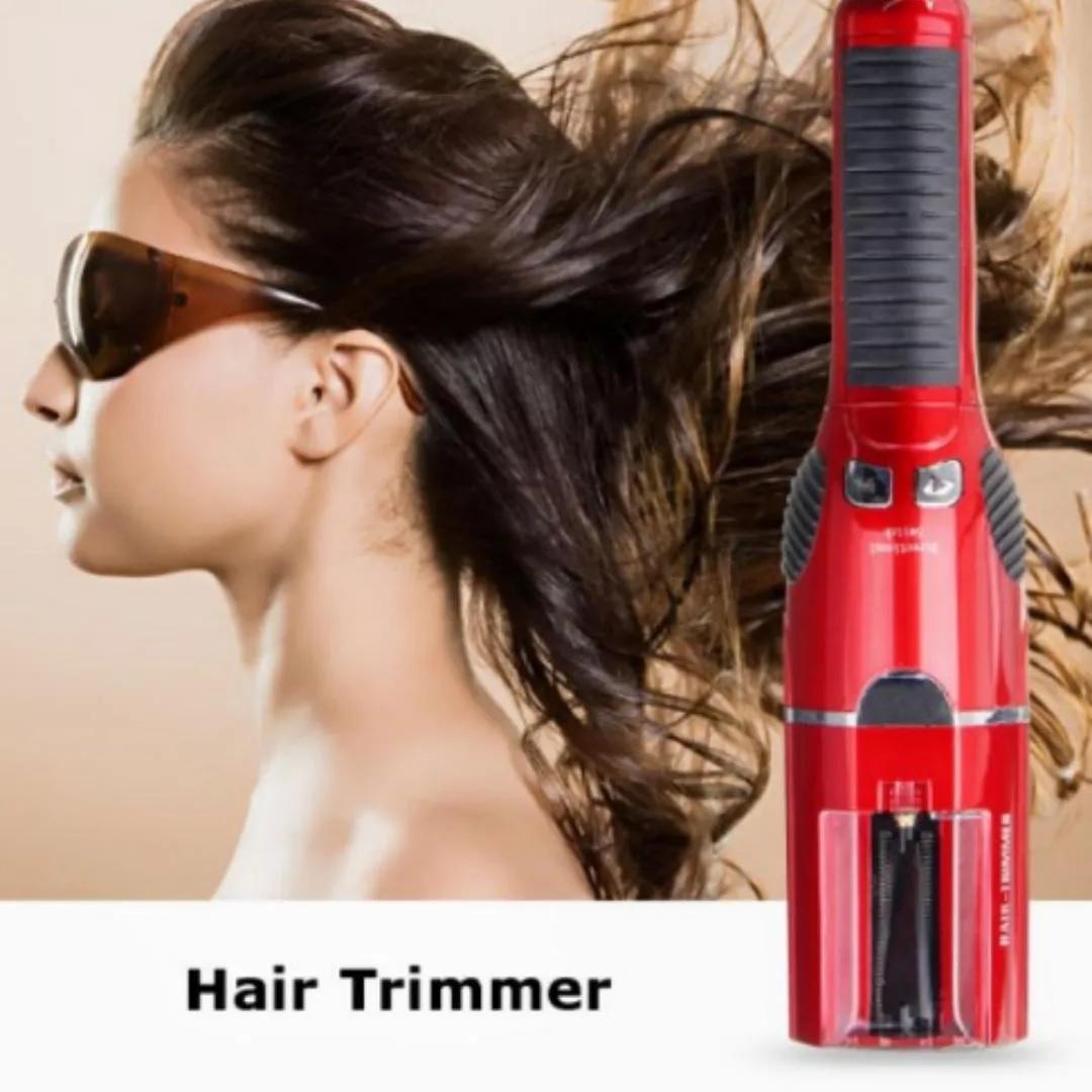 Maquina De Corte Bordado Vermelha Hair Trimmer Bivolt