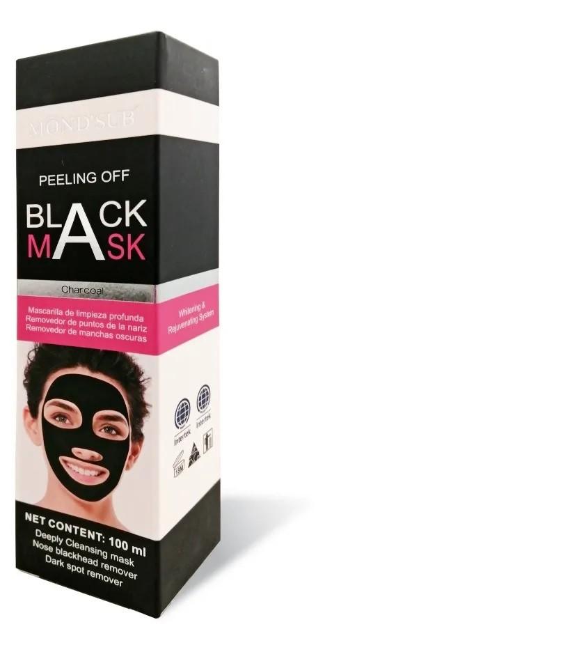 Mascara Negra Peeling Off Acne Cravo Limpeza De Pele 100 Ml