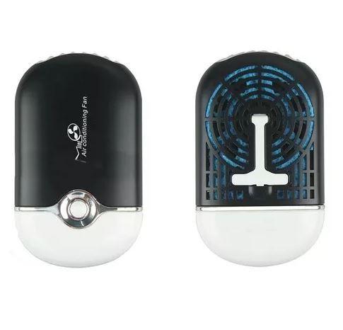Mini Ventilador Usb Para Alongamento De Cílios Preto