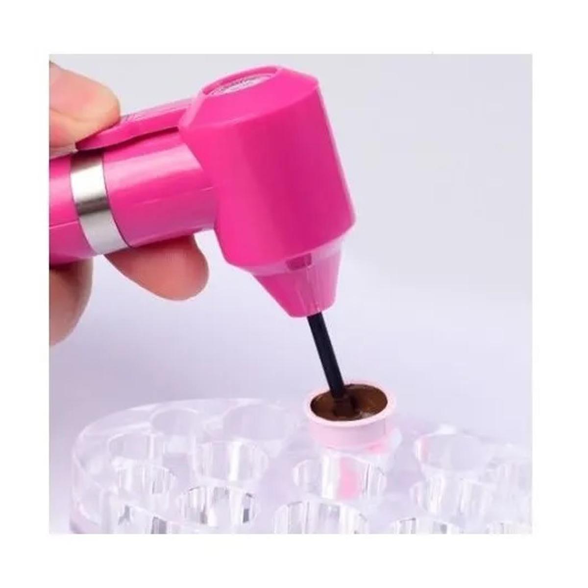 Mixer Mini Misturador Rosa Pigmentos Henna Microblading Tatuagem