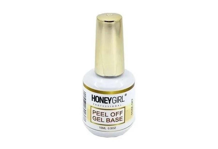 Peel Off Gel Base Soak-off Honey Girl 15ml Unha Gel