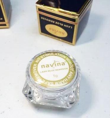 Removedor De Cola De Cílios Navina Em Gel