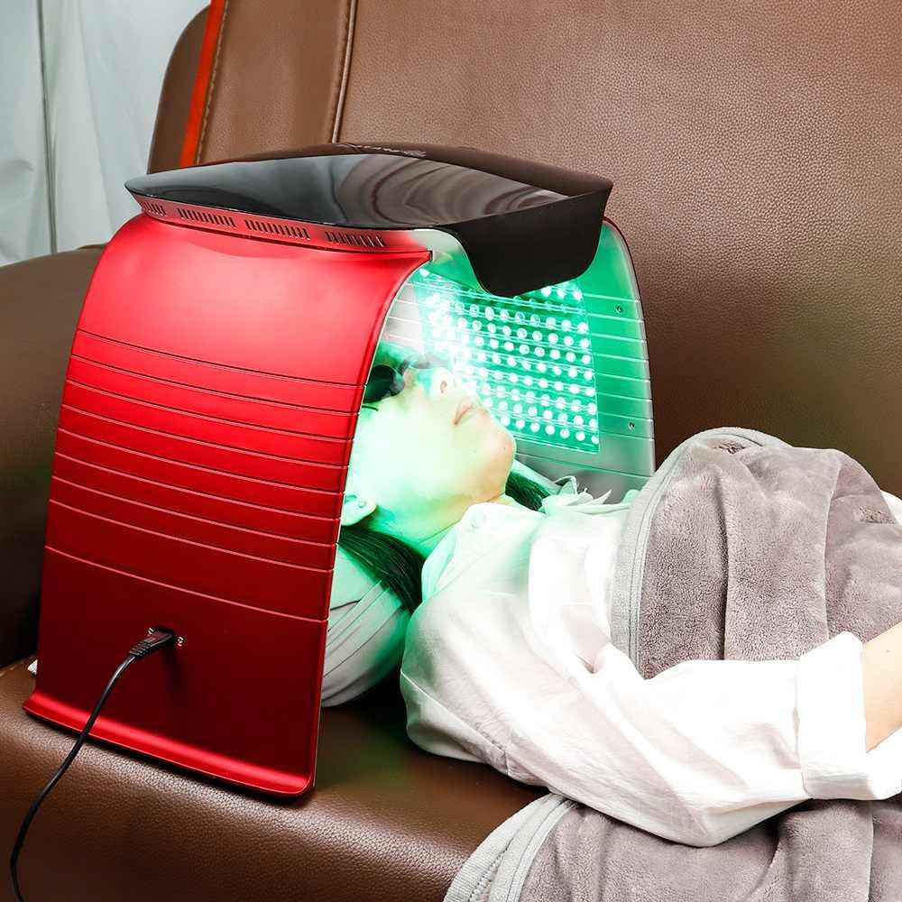 Spa Facial Fototerapia Anti Envelhecimento Vapor Quente Frio