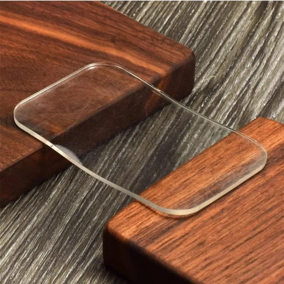 Suporte Testa Silicone Alongamento Porta Cílios Reutilizável Transparente