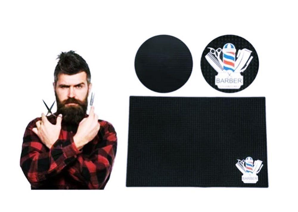 Tapete De Borracha Antiderrapante Para Bancada De Barbearia Barbeiro