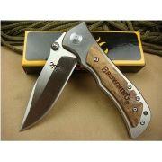 Canivete Aço Inox/Madeira 16,0 cm - Browning