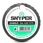 Chumbinho Diabolô 4,5 mm c/ 250 Unidades - Snyper