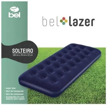 Colchão Inflável Solteiro - Bel Lazer