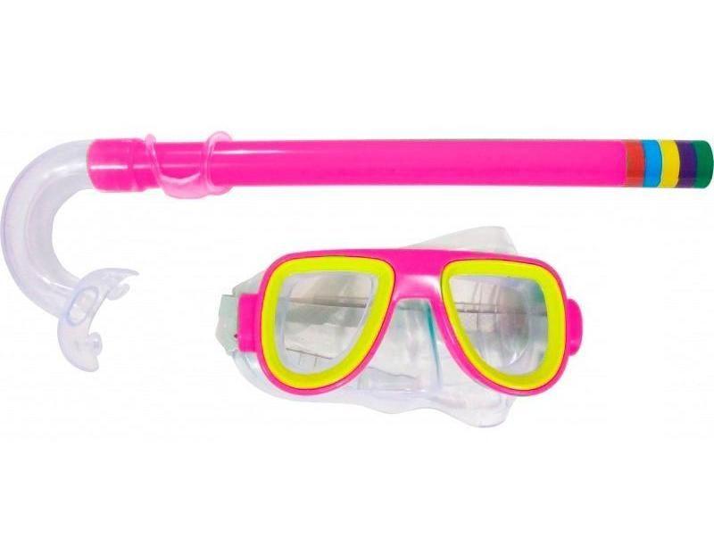 Kit Infantil c/ Respirador/Snorkel + Óculos Bel Sports