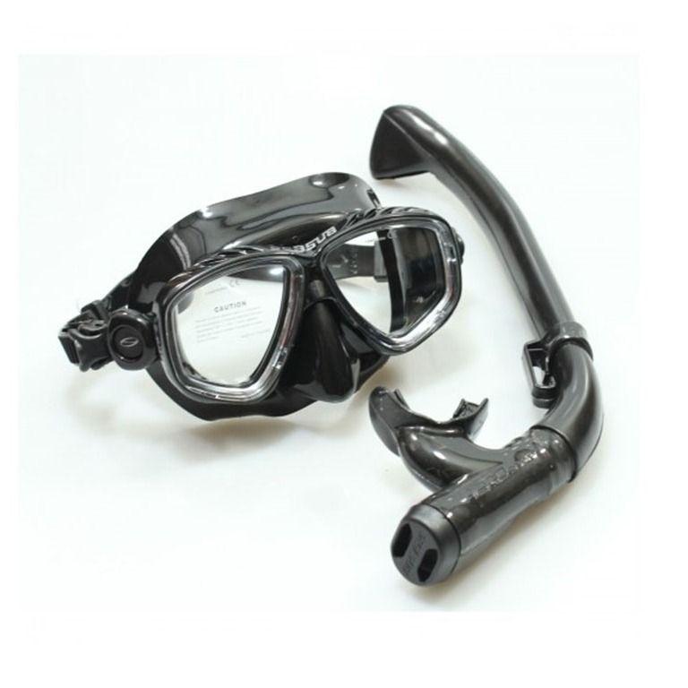 Kit Respirador/Snorkel + Máscara Dua Seasub