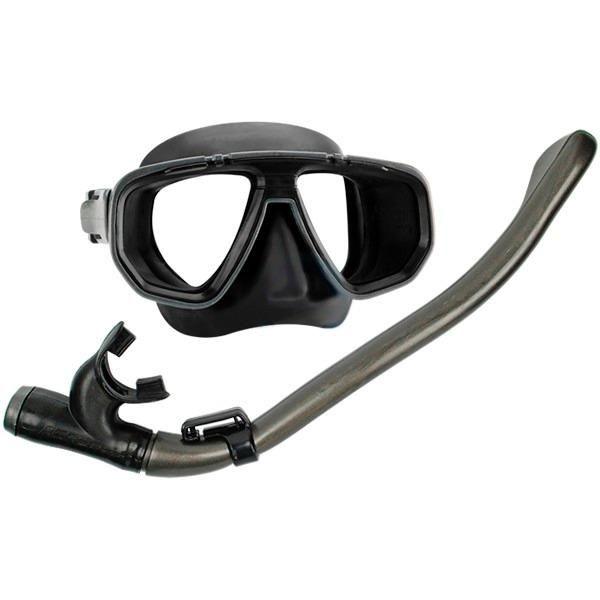 Kit Respirador/Snorkel + Máscara Astra Seasub
