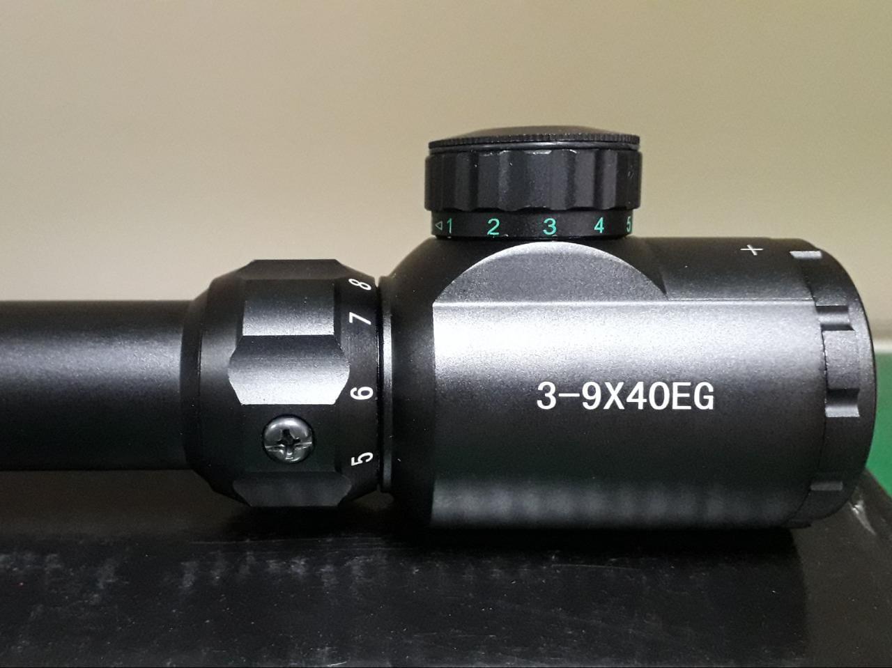 Luneta Riflescope 3-9x40 EG