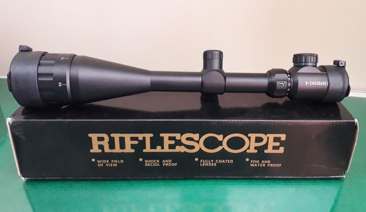 Luneta Riflescope 6-24x50 EG