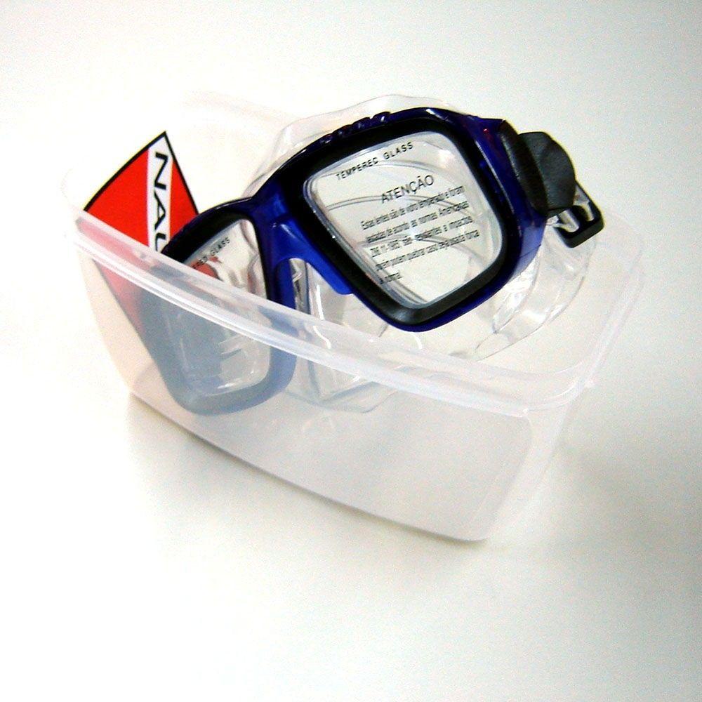 Máscara p/ Mergulho X-Dive Nautika
