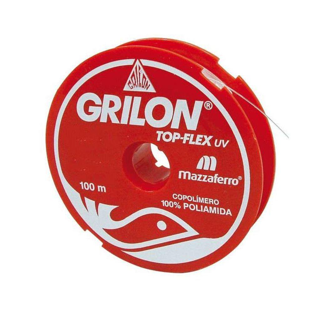 Monofilamento de Nylon Grilon 27,8 lbs / 0,50 mm / 100 m - Mazzaferro