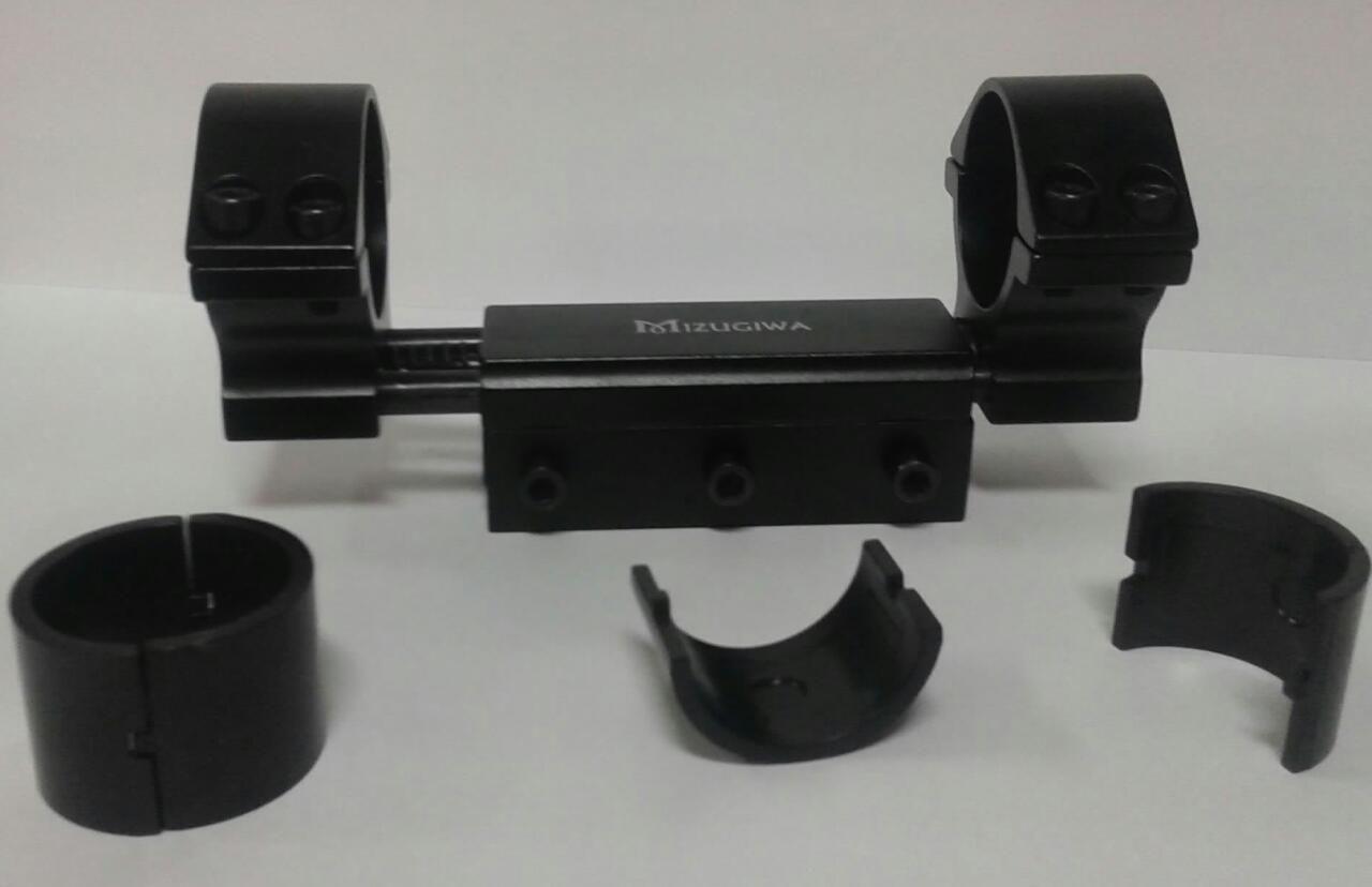 Mount de Absorção de Impacto p/ Trilho de 20 mm - Tubo de 25 mm e 30 mm