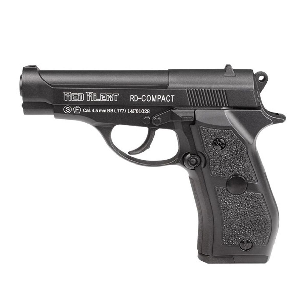 Pistola de Pressão CO2 Gamo Red Alert Compact BBs 4,5 mm