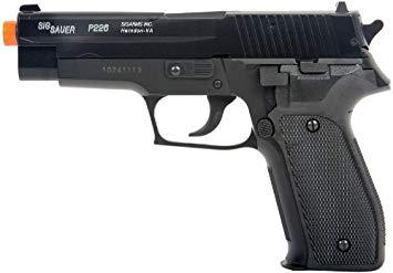 Pistola de Airsoft Spring P226 Sig Sauer 6,0 mm - Cyber Gun