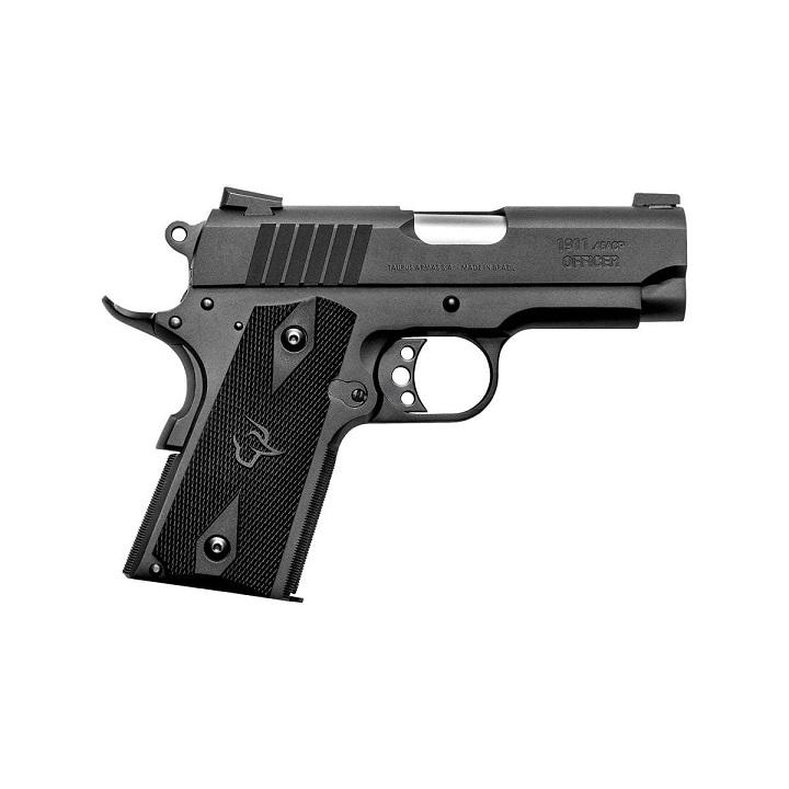 Pistola Taurus PT 1911 Officer 6+1 Tiros - 3,5 Polegadas - Cal .45 ACP