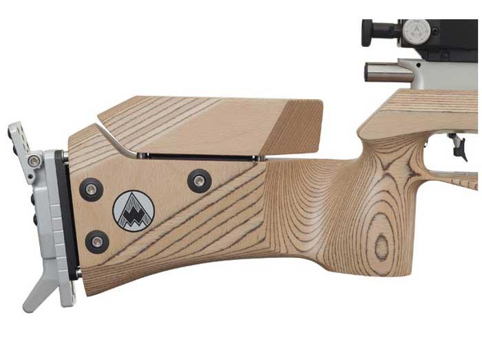 Rifle de Pressão PCP Feinwerkbau 700 Coronha de Madeira 4,5 mm