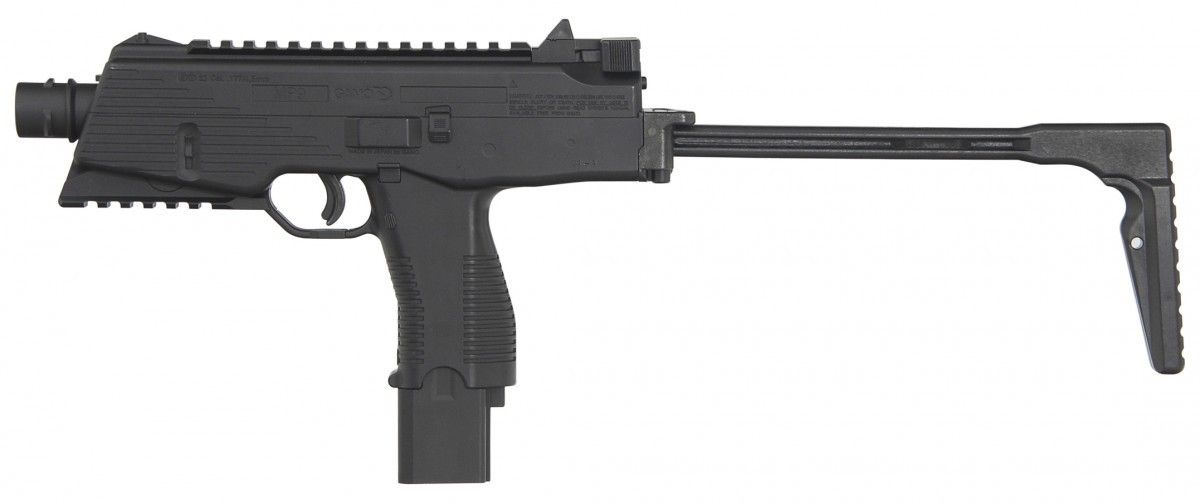 Submetralhadora de Pressão CO2 Blowback Semi-Auto MP9 Gamo 4,5 mm