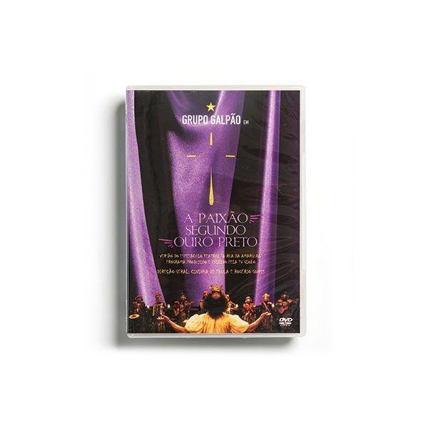 DVD A PAIXÃO SEGUNDO OURO PRETO / A RUA DA AMARGURA