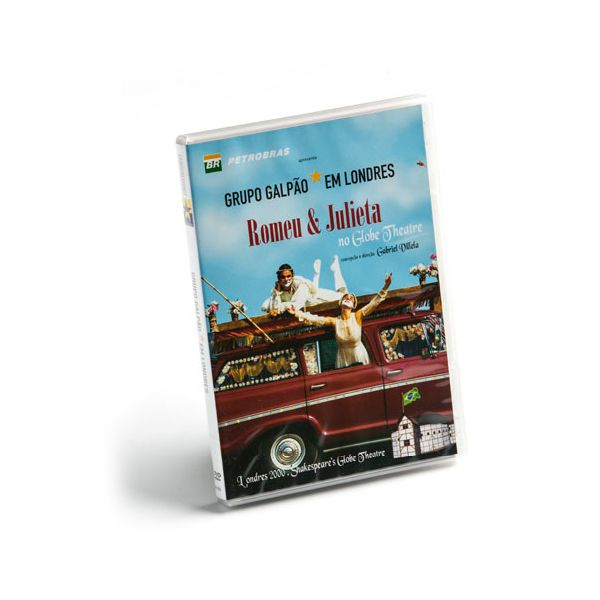 "DVD DO ESPETÁCULO ""ROMEU E JULIETA"" NO GLOBE THEATRE"