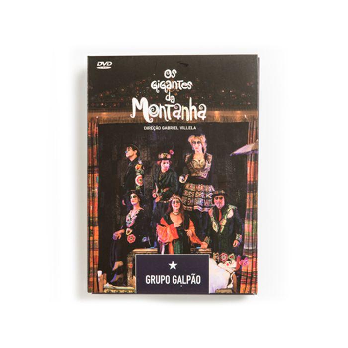 DVD DUPLO - OS GIGANTES DA MONTANHA E ROMEU E JULIETA - GRUPO GALPÃO