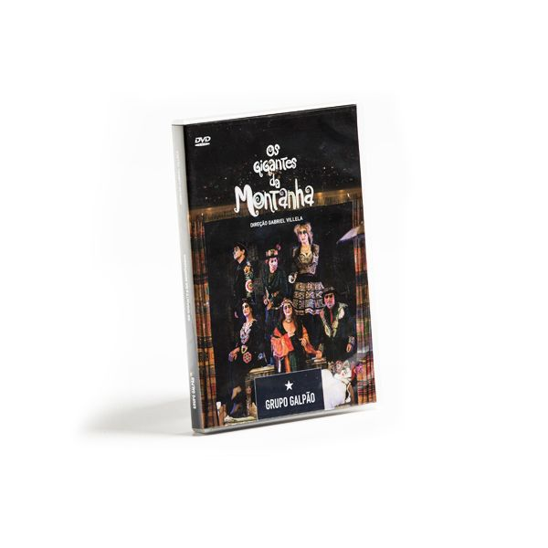 DVD OS GIGANTES DA MONTANHA NA PRAÇA DO PAPA