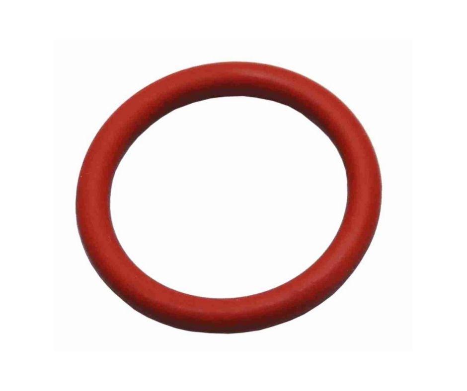 Anel De Vedacao 5/8 Silicone Vermelho 17,04x3,53mm