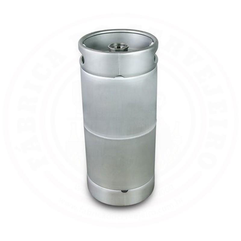 Barril (Keg) Novo de 20 Litros SLIM com Sifão e Válvula tipo