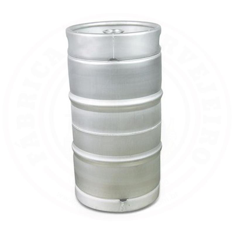 Barril (Keg) Novo de 30 Litros SLIM com Sifão e Válvula tipo
