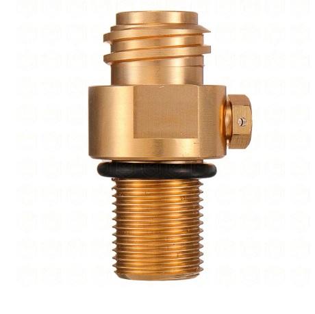 Cabeça Válvula do Cilindro de Alumínio 425g Rosca 6ACME (TR21*4)
