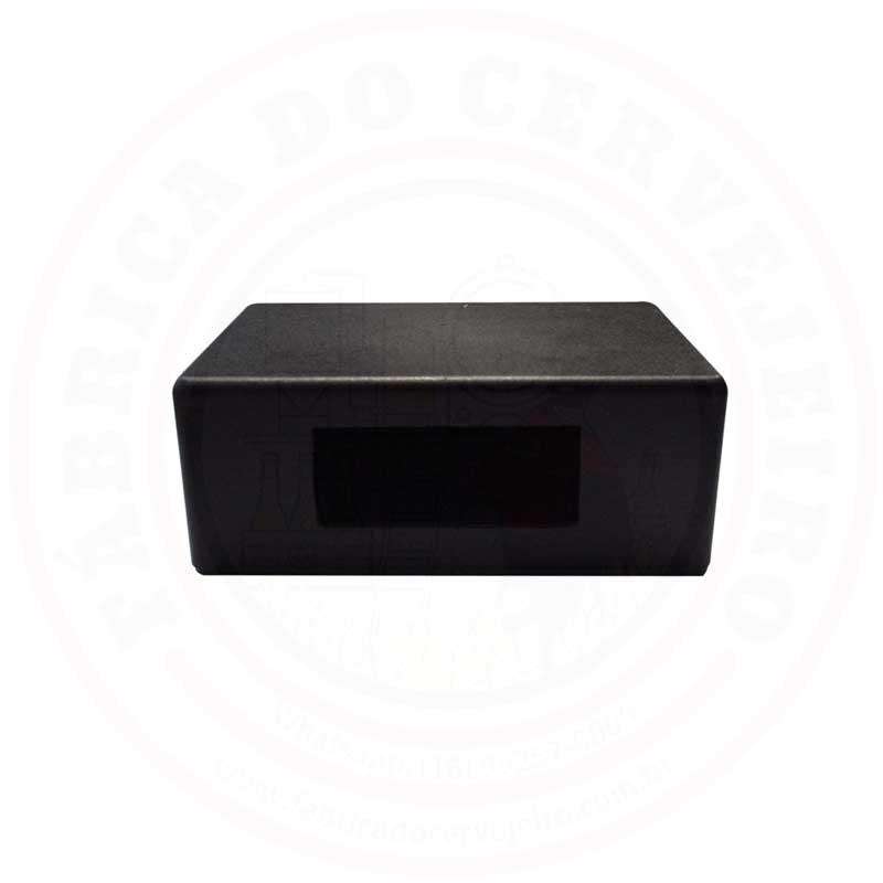 Caixa com 2 saídas para Controladores de Temperatura em Plástico