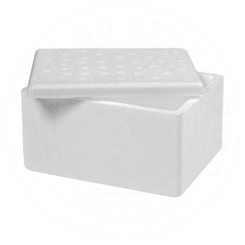 Caixa de Isopor Adequada para Lúpulo e Levedura de 1L