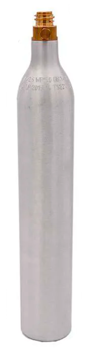 Cilindro de Aluminio para CO2 425gr Cheio