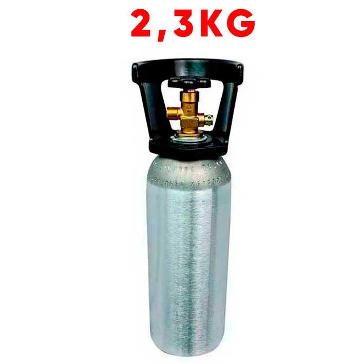 Cilindro De Co2 2,3kg Alumínio (Vazio)