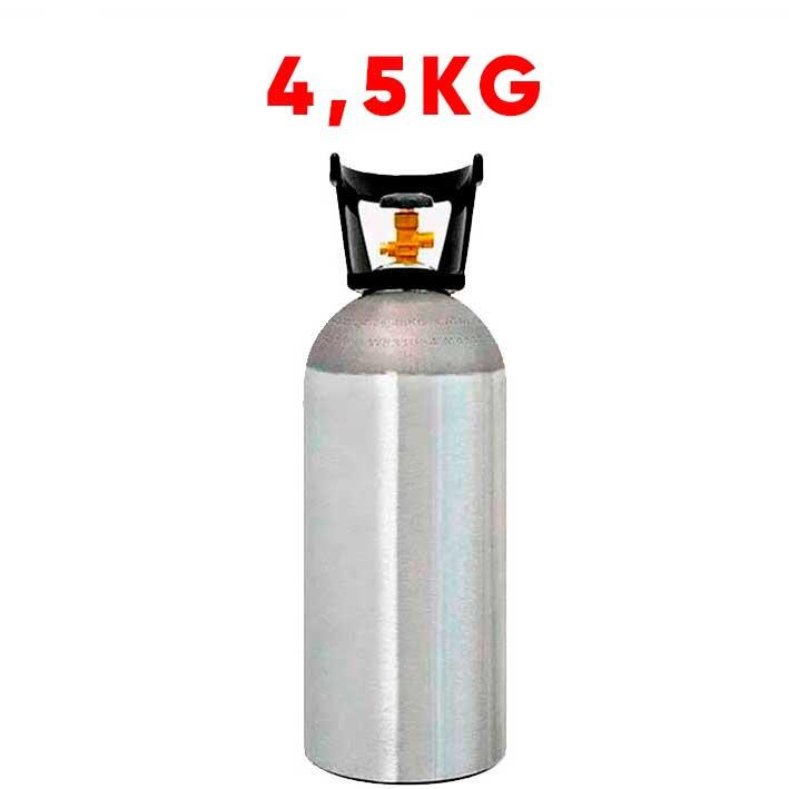 Cilindro De Co2 4,5kg Alumínio (Vazio)