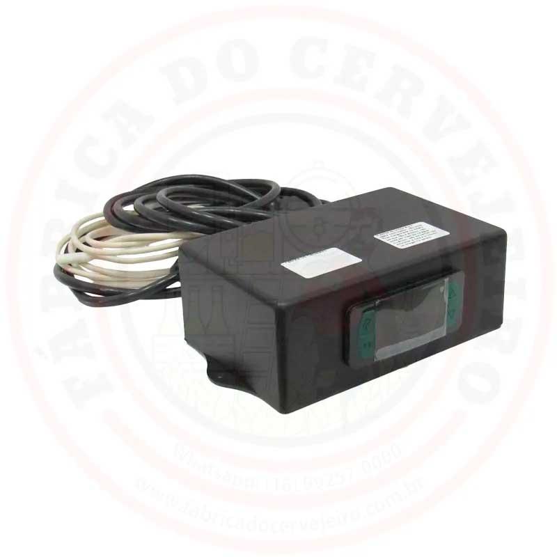 Controlador de Temperatura para Geladeira 220V Caixa de Plastico
