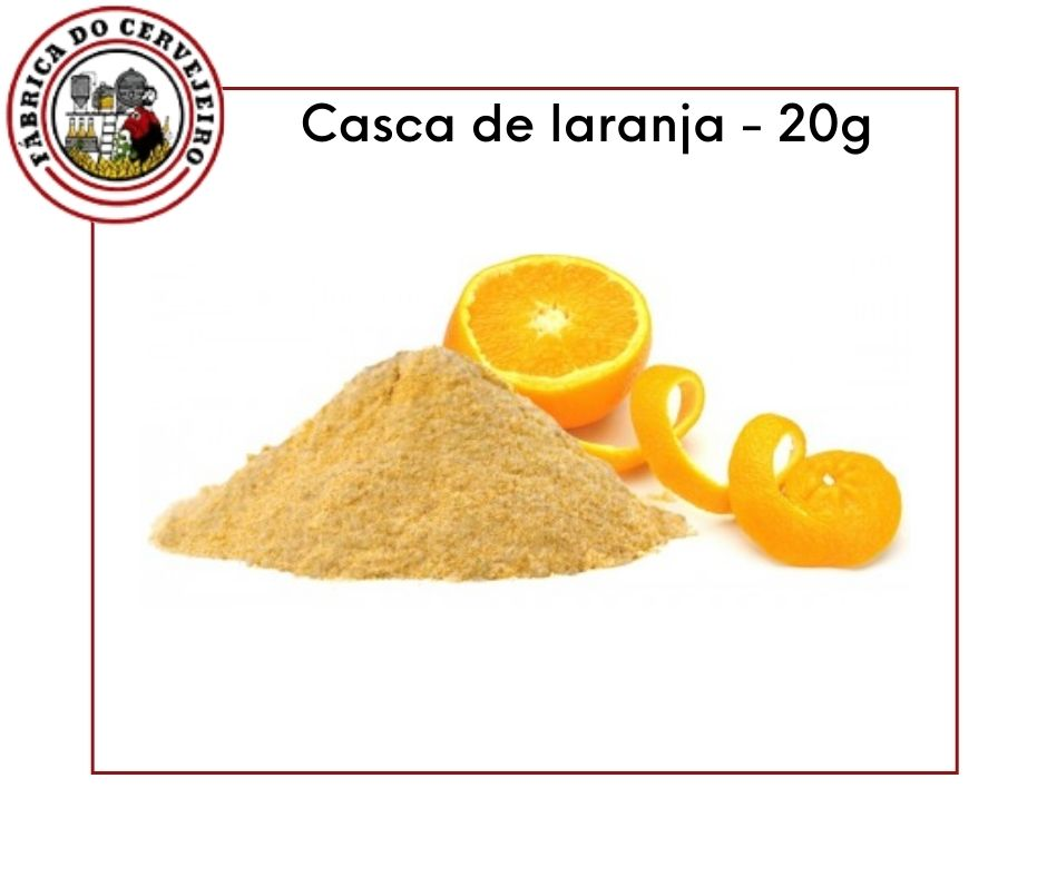 ESPECIARIAS - CASCA DE LARANJA 20GR