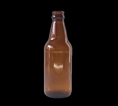 Garrafa de vidro Ambar 300ml Caculinha Craft