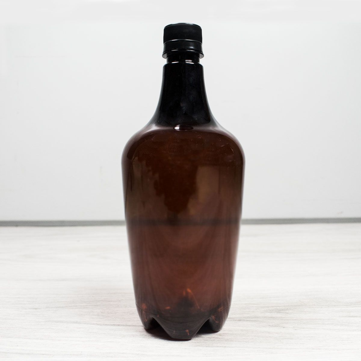 Growler Pet Ambar 1 Litro Para Cerveja Artesanal - Reutilizável