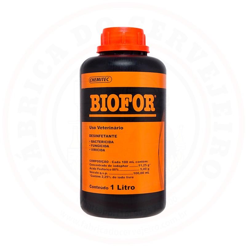 Sanitizante Iodo Biofor (Iodophor / Iodofor) 1L