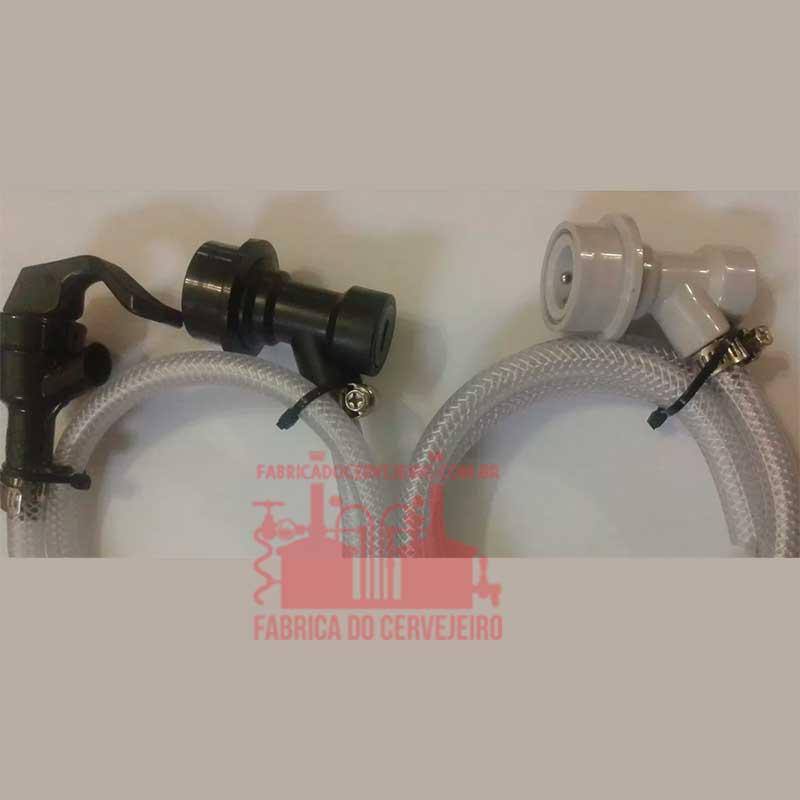 Kit BallLock com 1 Kit Extração e 1 Kit Injeção CO2 para Postmix