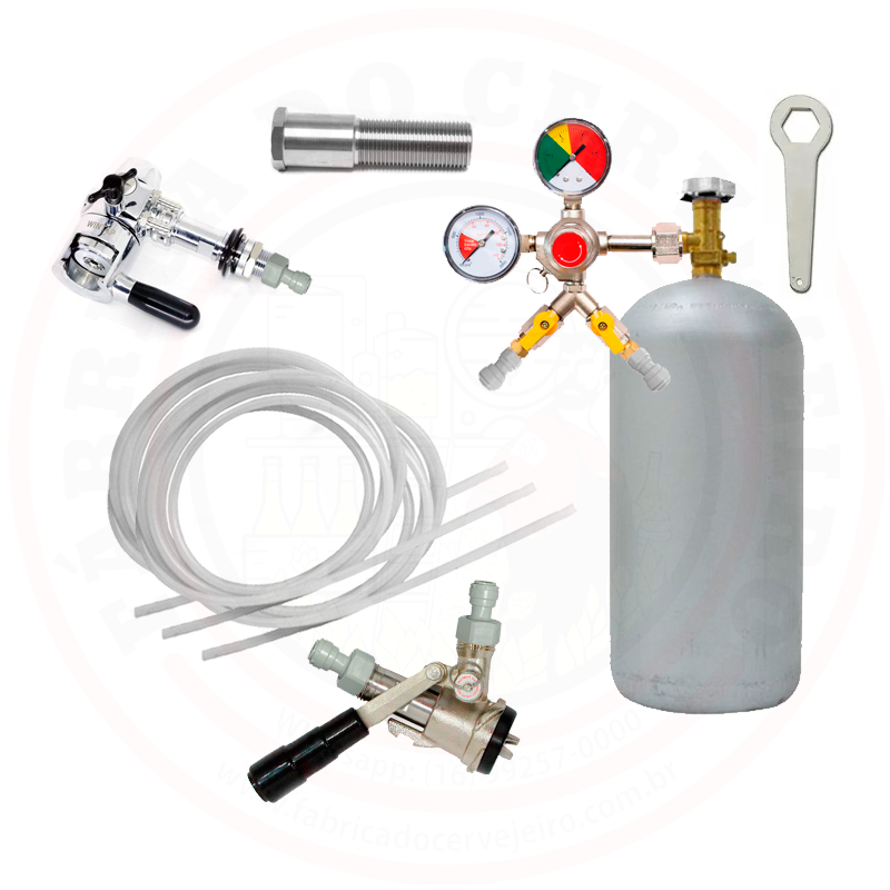 Kit Enchedor WINTAP Completo com Cilindro